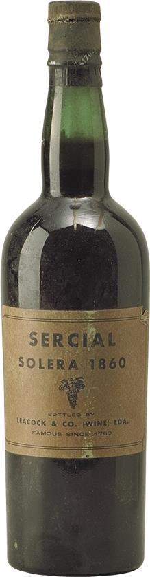 Madeira 1860 Leacock's Solera Sercial (2119)