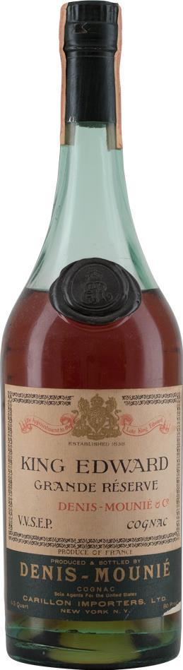 Cognac Denis-Mounié King Edward Magnum 1970's (10224)