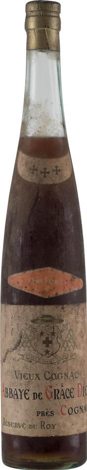 Cognac 1950's Abbaye de Grace Dieu Three Star (10227)