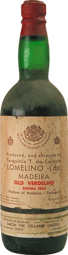 Madeira 1865 Tarquinia T. Da Camara (2136)