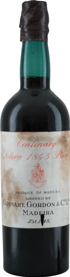 Madeira 1845 Cossart, Gordon & Co (10285)