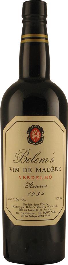 Madeira 1934 Belem's (2151)
