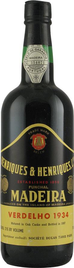 Madeira 1934 Henriques & Henriques (2157)