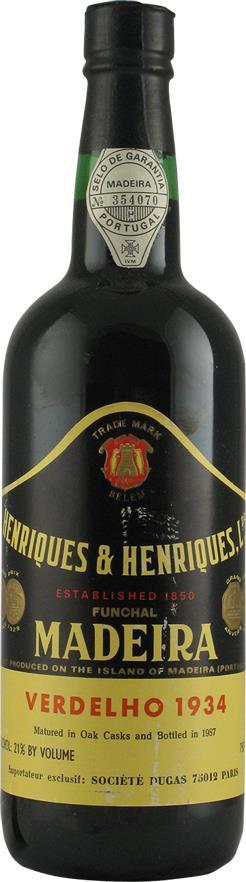 Madeira 1934 Henriques & Henriques (2159)