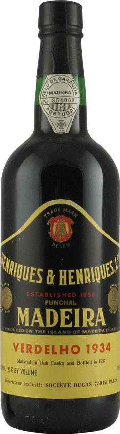 Madeira 1934 Henriques & Henriques (2161)