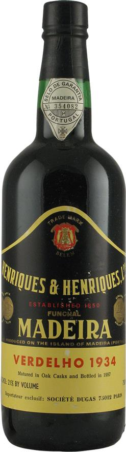 Madeira 1934 Henriques & Henriques (2163)