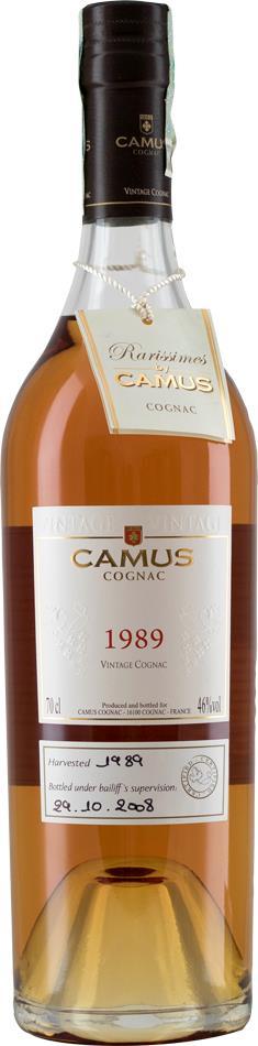 Cognac 1989 Camus Rarissime Hors d'Age