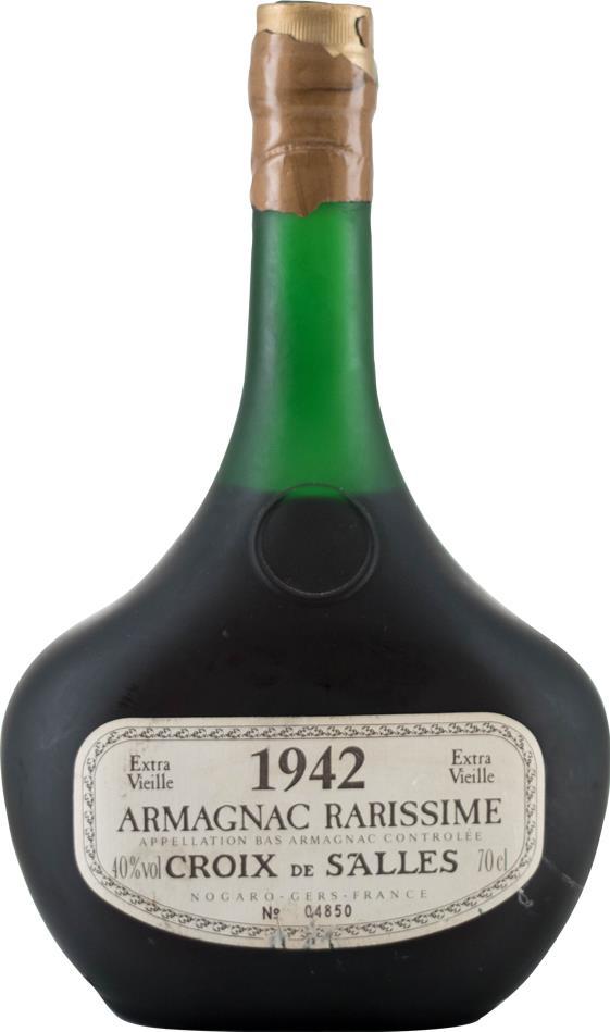 Armagnac 1942 Croix de Salles (10461)