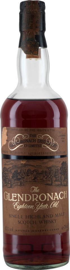 Whisky 1974 Glendronach