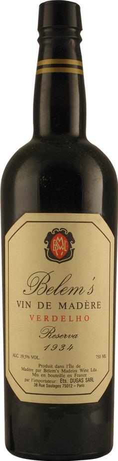 Madeira 1934 Belem's (2173)