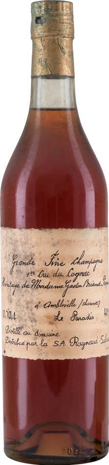 Cognac Heritage Mme Gaston Briand Le Paradis (10522)