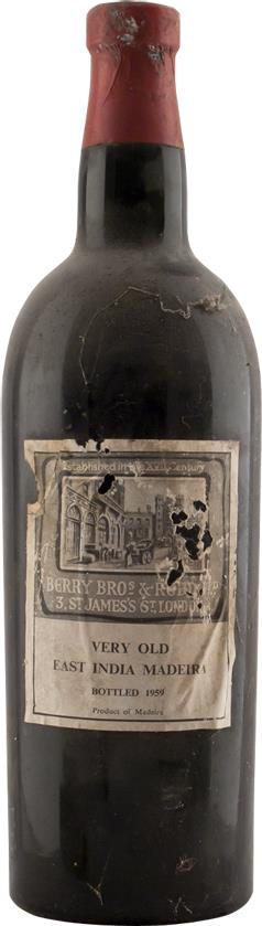 Madeira 1860 Berry Brothers & Rudd, Very Old East India Madeira (2183)