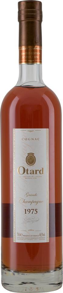 Cognac 1975 Otard Grande Champagne