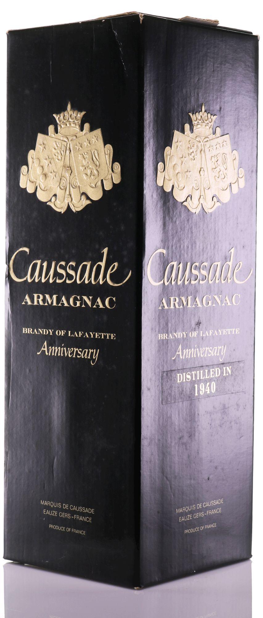 Armagnac 1940 Marquis de Caussade