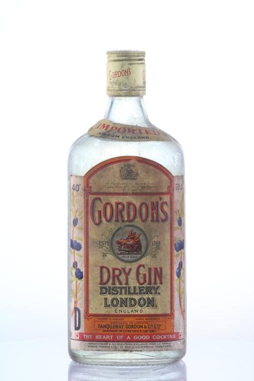 Gordon S London Dry Gin 70s Old Liquors