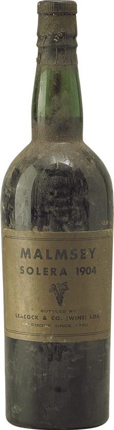 Madeira 1904 Leacock's, Malmsey Solera (2228)