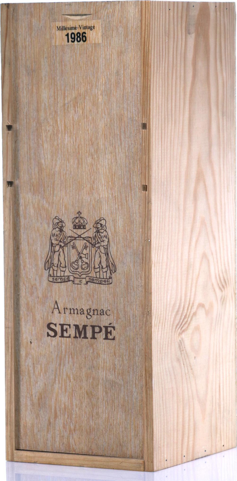 Armagnac 1986 Sempé