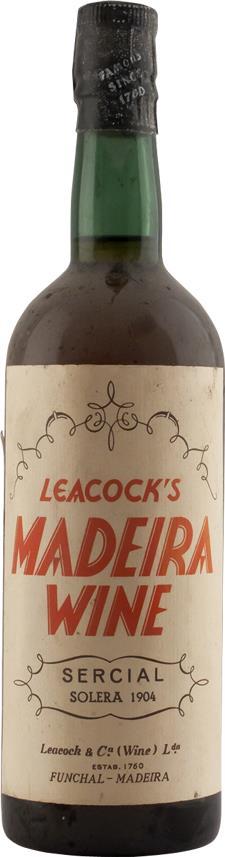 Madeira 1904 Leacock's (2237)