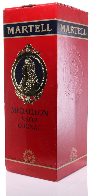 Cognac Martell Magnum, Medaillon, V.S.O.P