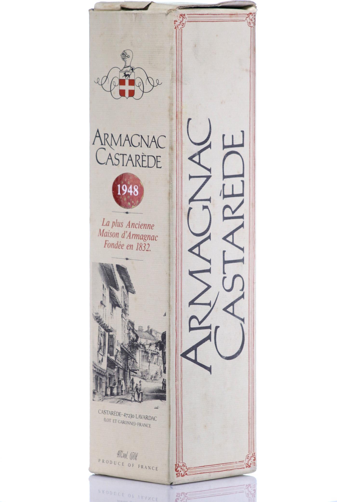 Armagnac 1948 Castarède