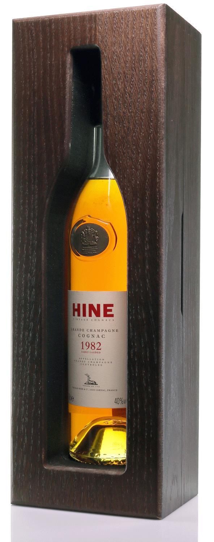 Cognac 1982 Hine Grande Champagne Jarnac aged