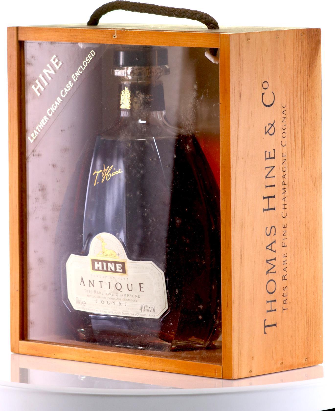 Hine Antique Fine Champagne XO Carafe Gift Box
