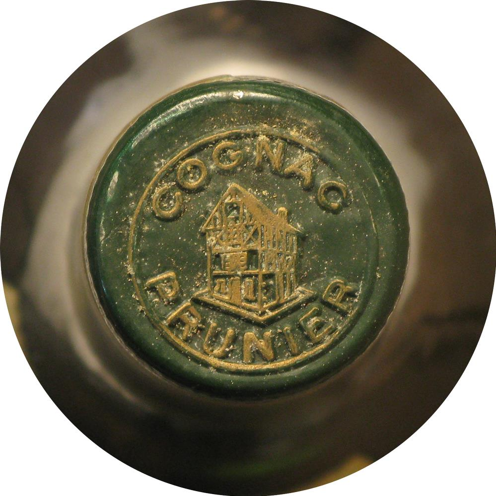 Cognac 1928 Prunier & Co J.