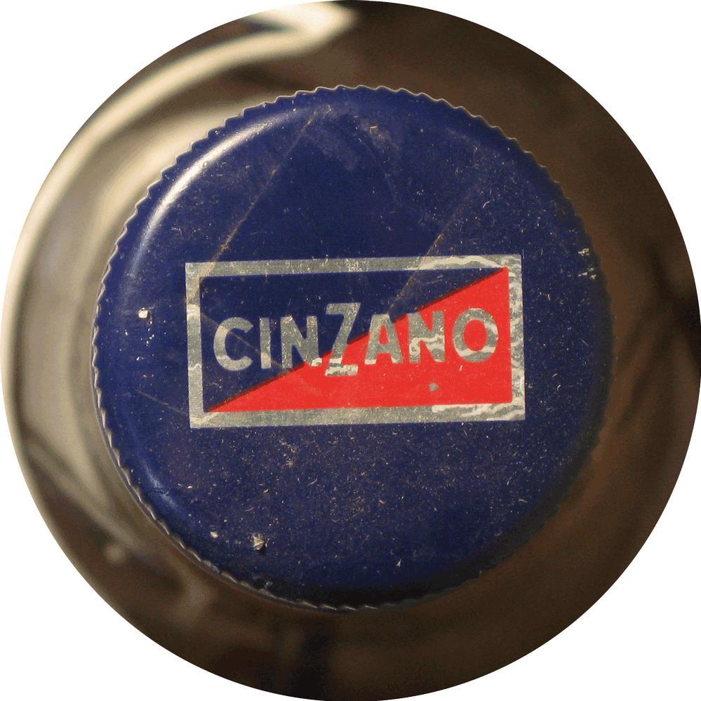 Cinzano Vermouth 1980s