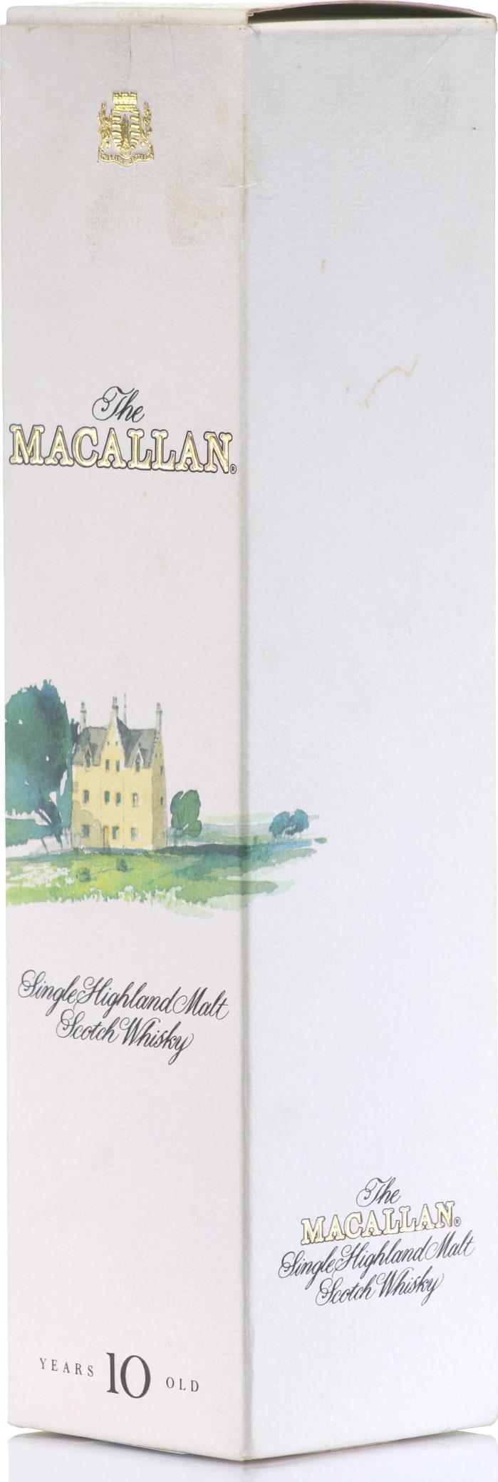 Whisky Macallan 10 YO Sherry Wood 1990s