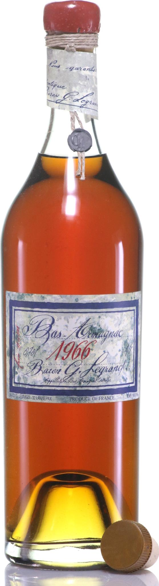 Armagnac 1966 Baron Gaston LeGrand