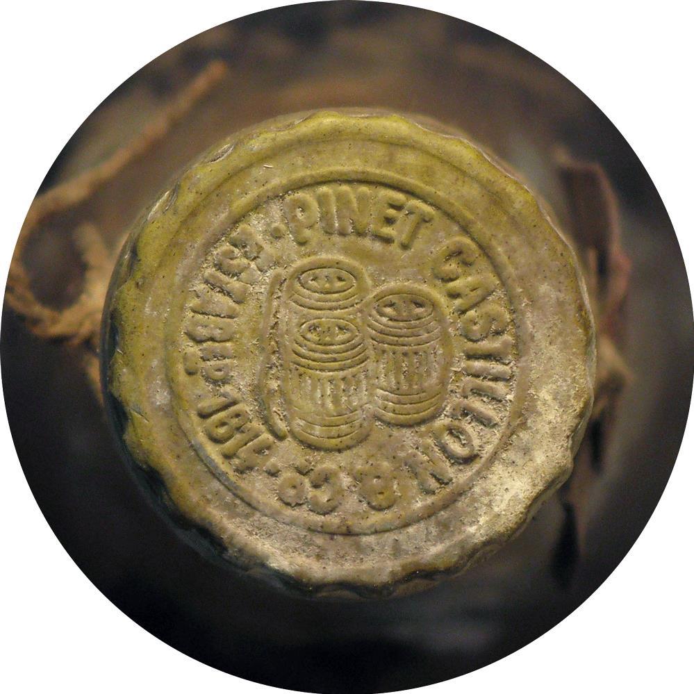 Cognac 1914 Pinet Castillon & Co