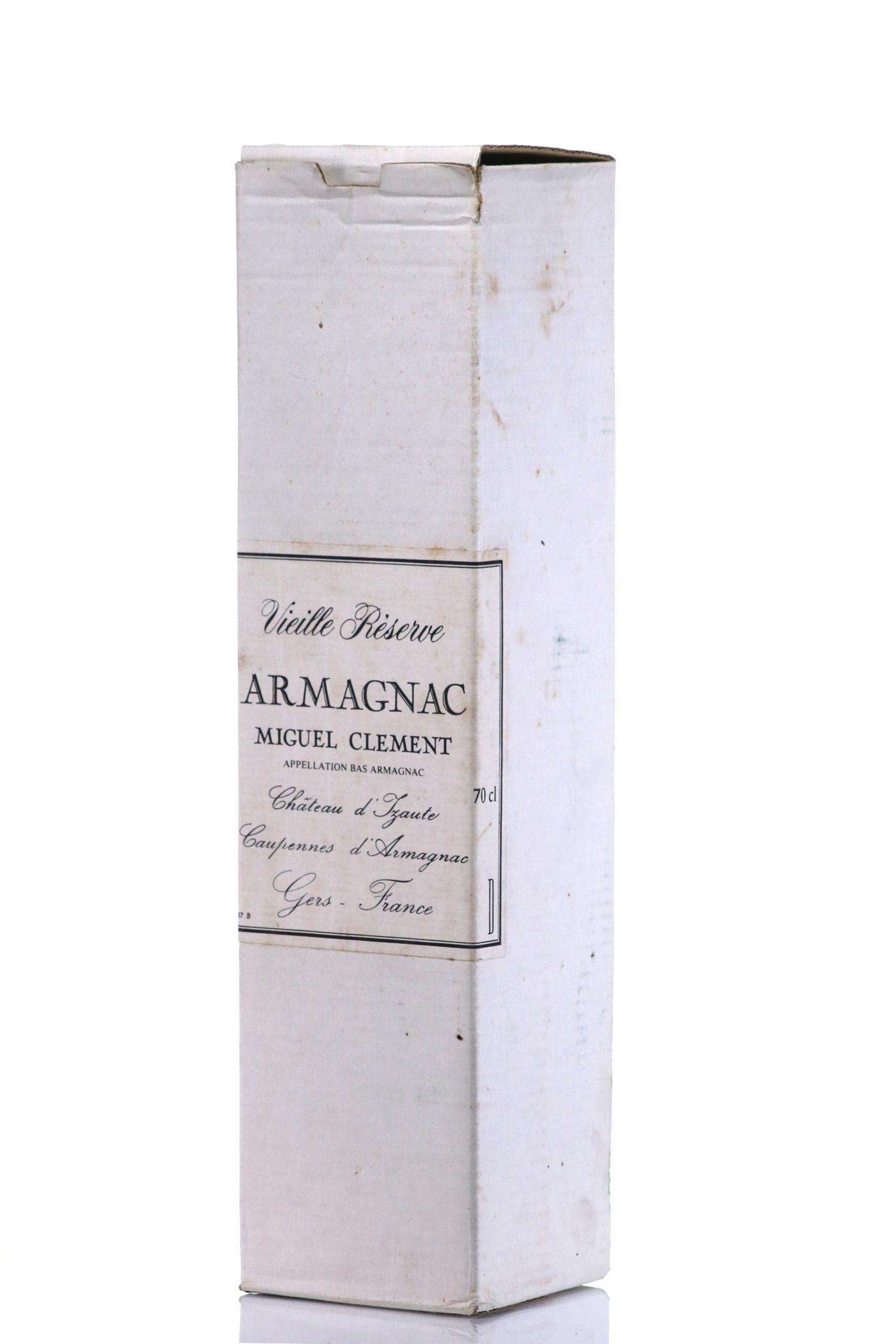 Armagnac 1928 Miguel Clement