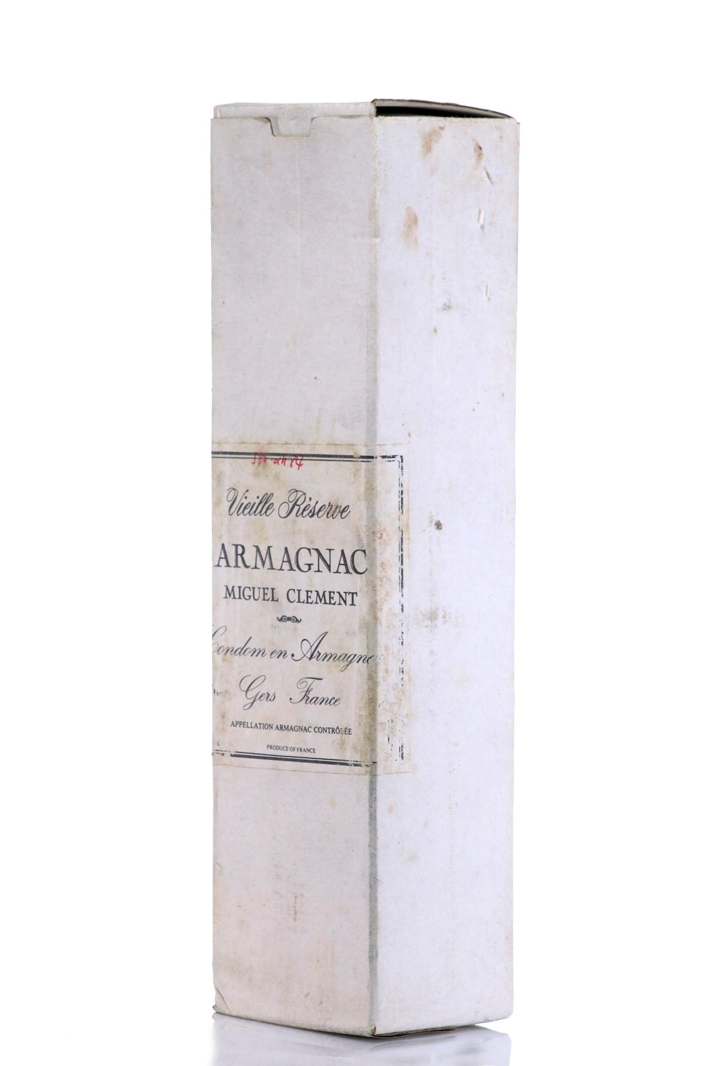 Armagnac 1939 Miguel Clement