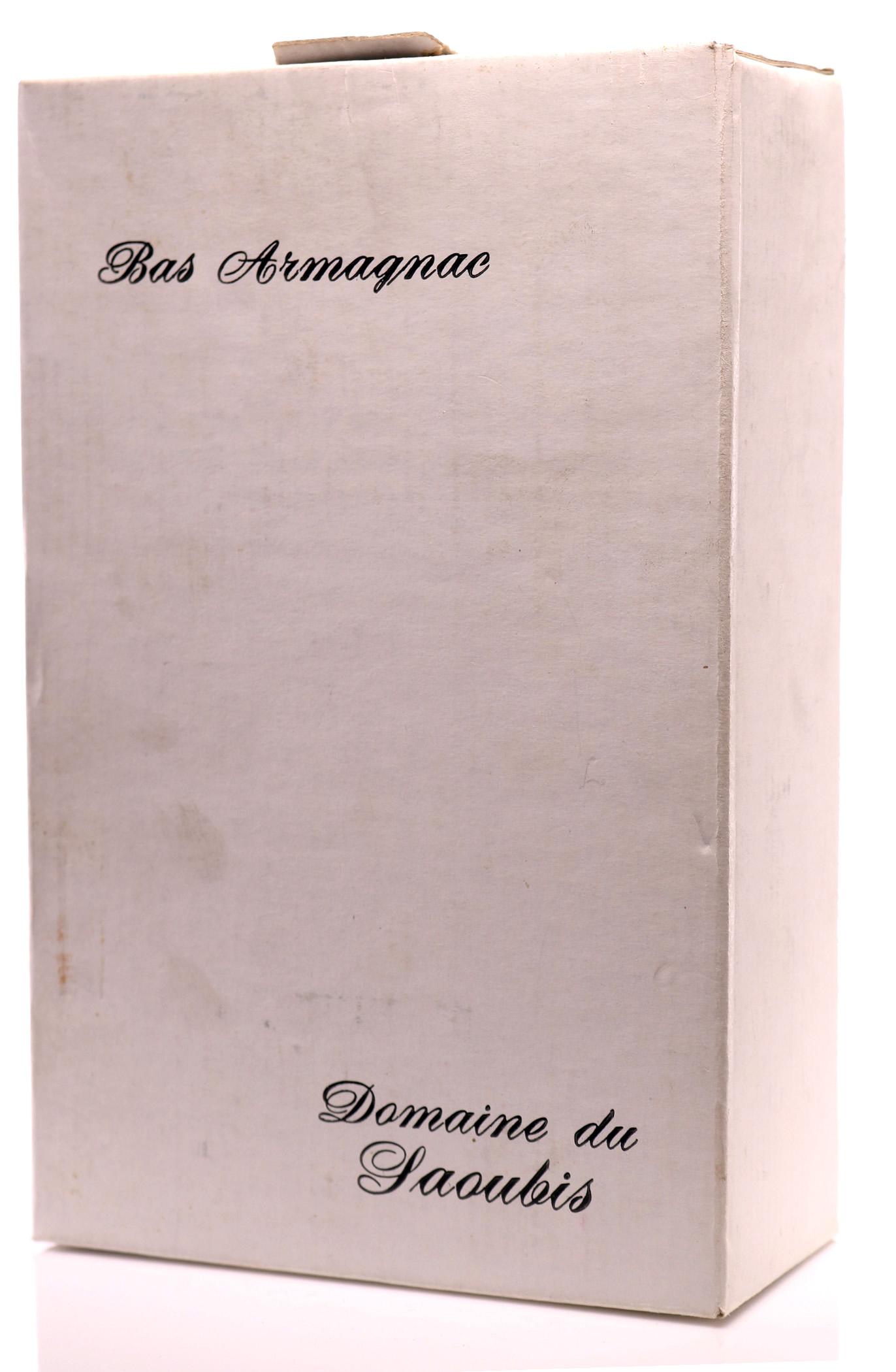 Armagnac 1961 Domaine de Saoubis