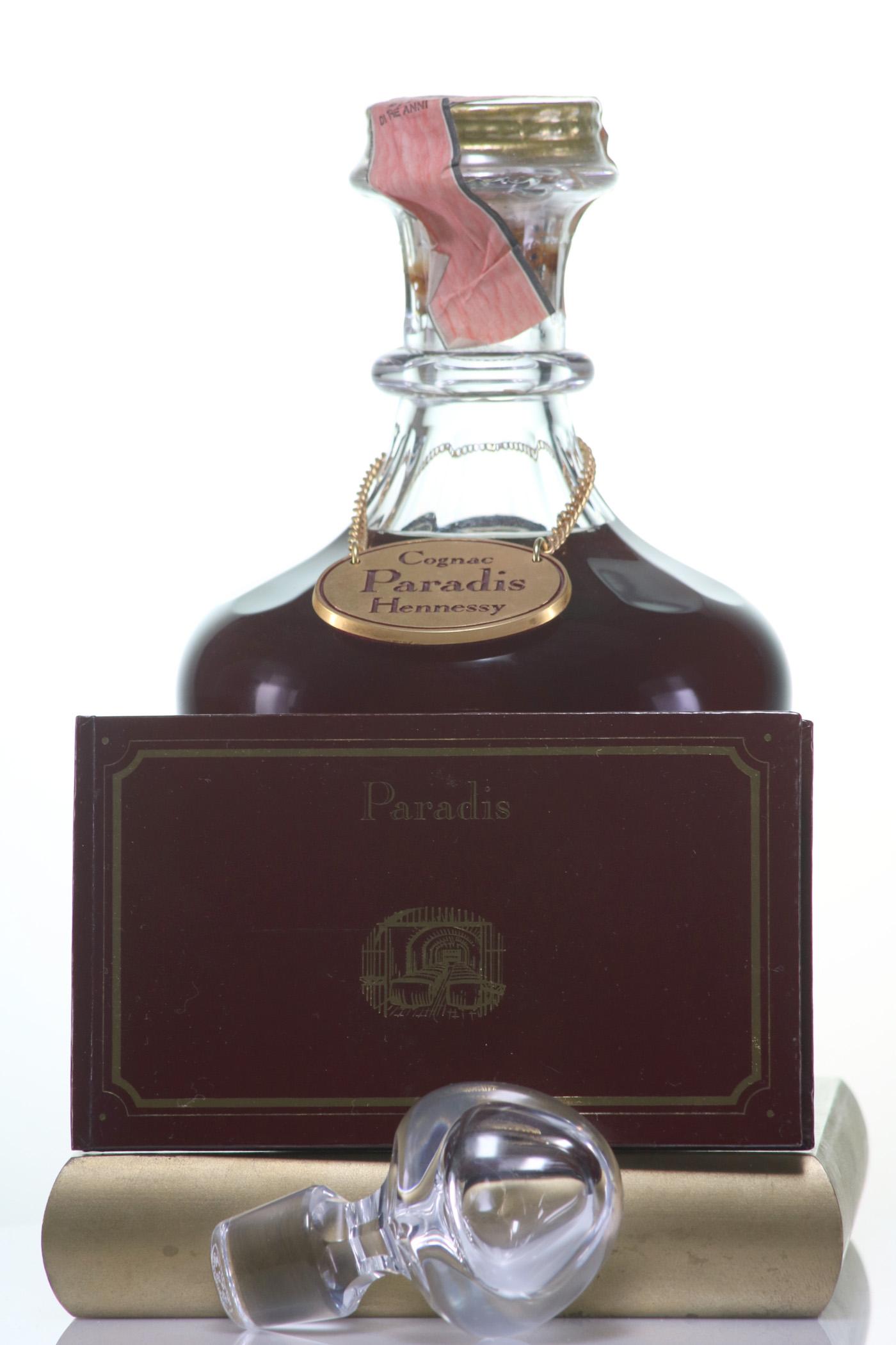 Cognac Hennessy Paradis 1980s decanter