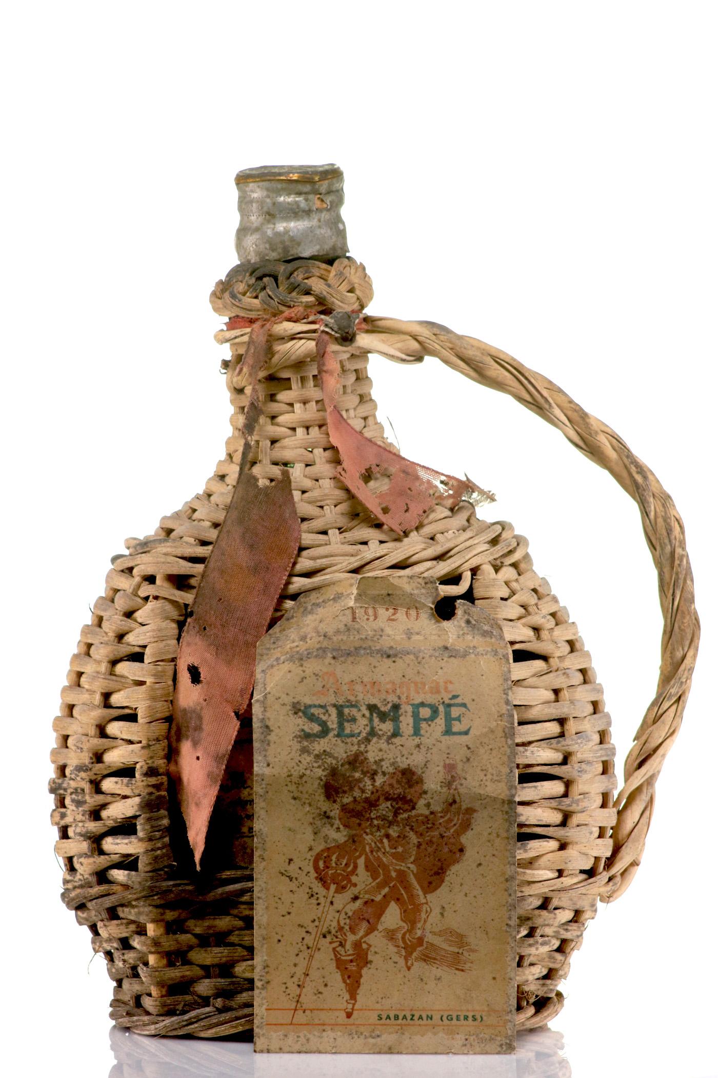 Armagnac 1920 Sempé