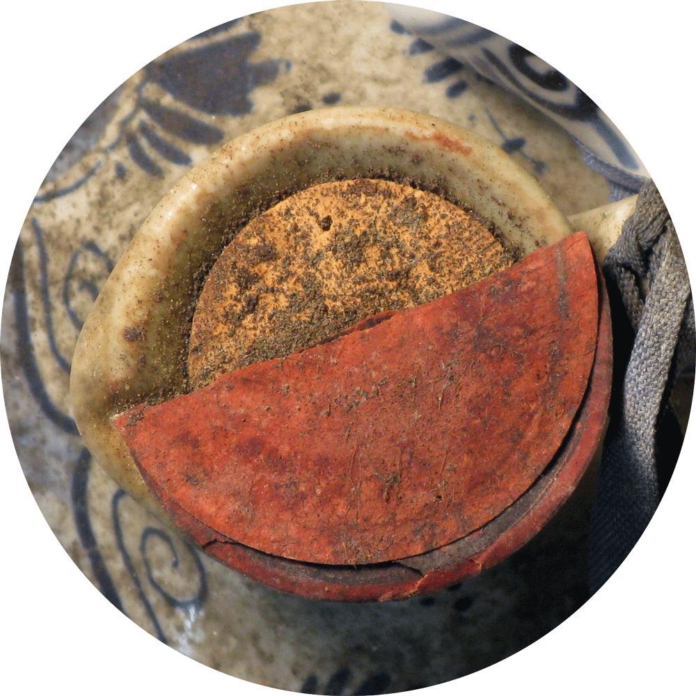 Bols Delftblue Jar Liqueur 1950's
