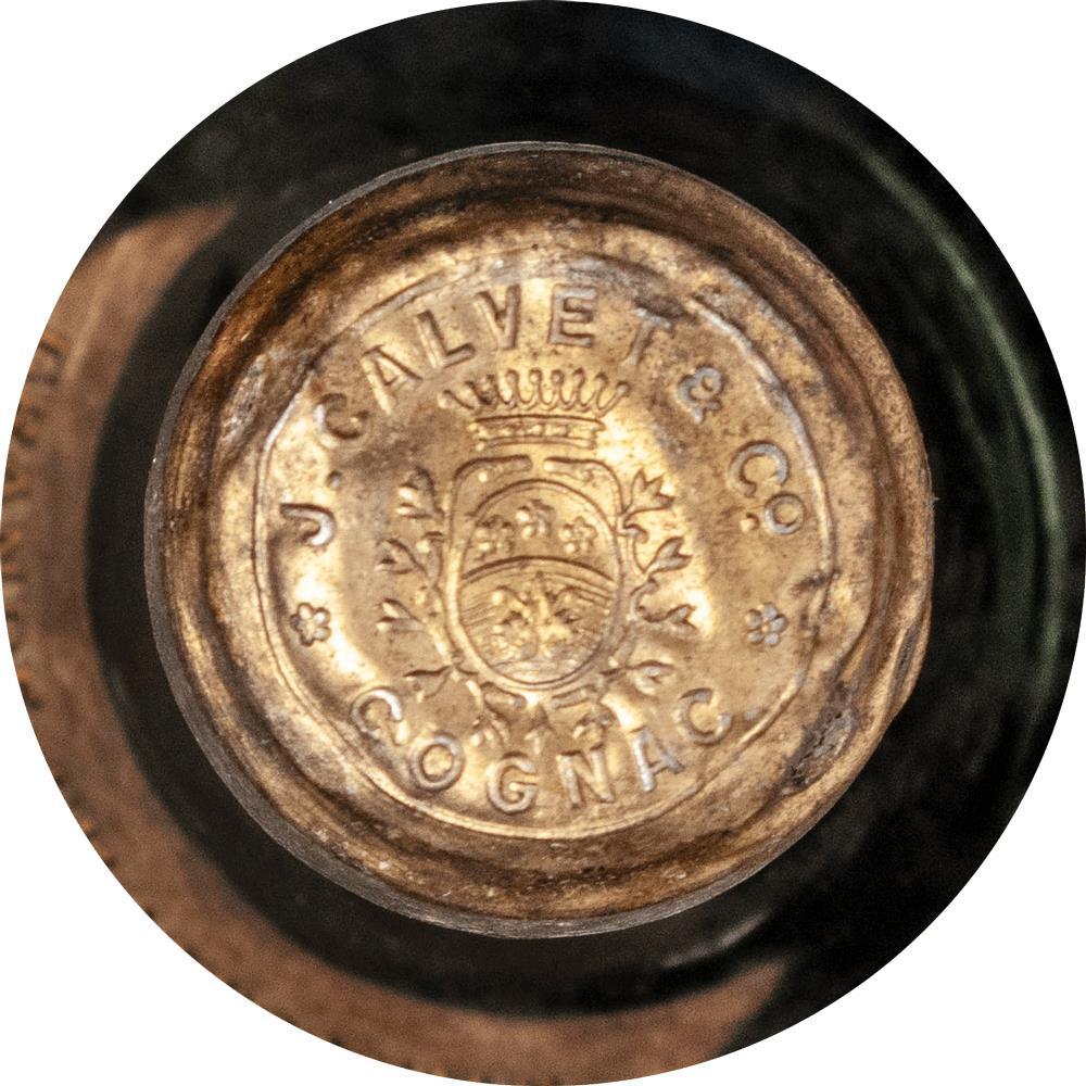 Cognac 1865 Calvet & Co J.