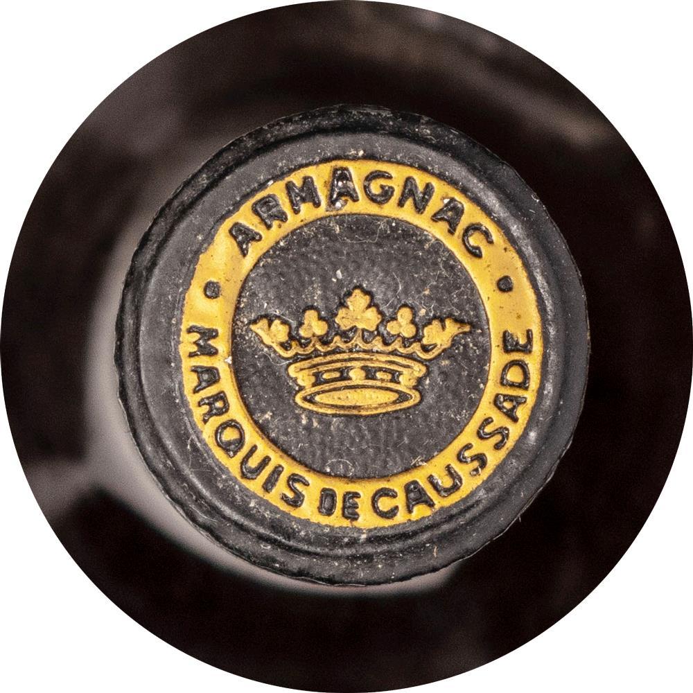 Armagnac 1886 Marquis de Caussade
