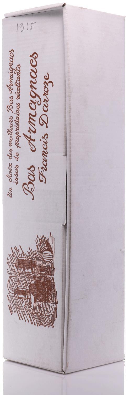 Armagnac 1915 Darroze - Domaine de Picpout