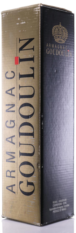 Armagnac 1915 Goudoulin Veuve J.