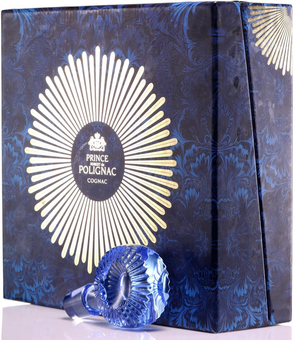 Cognac Prince Hubert de Polignac Blue Crystal