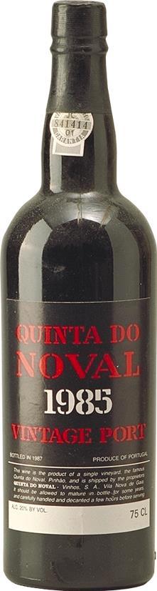 Port 1985 Quinta do Noval Vintage (2691)
