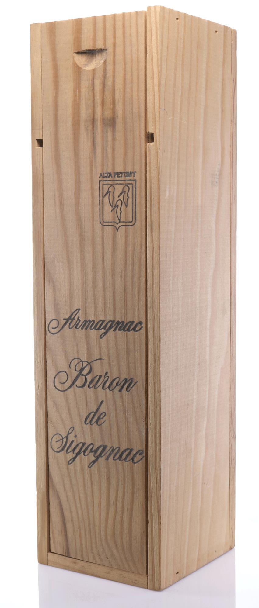 Armagnac 1957 Baron de Sigognac
